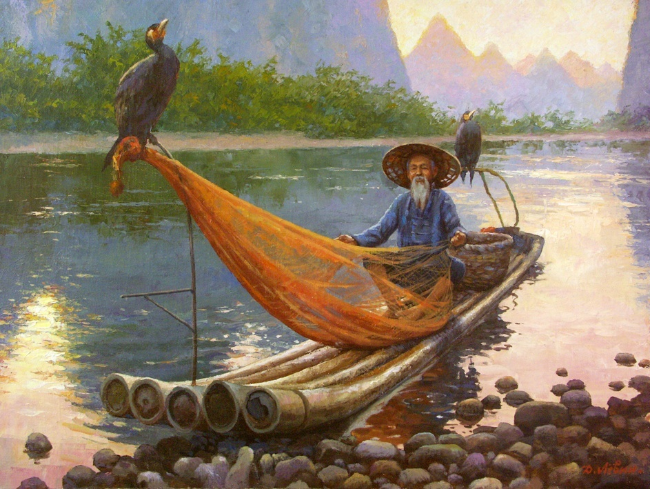 Catcher of a happiness, Dmitry Levin
