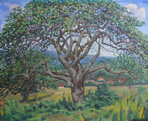 The apple-tree in Boshicka valley