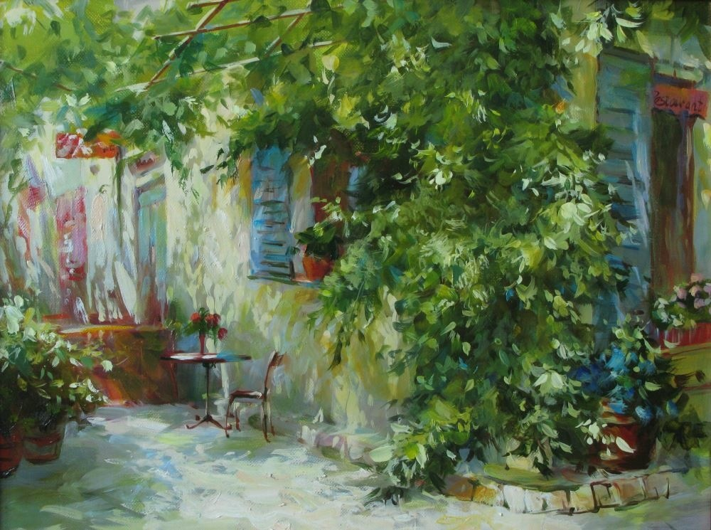 The sun of Provence, Natalia Kahtyurina