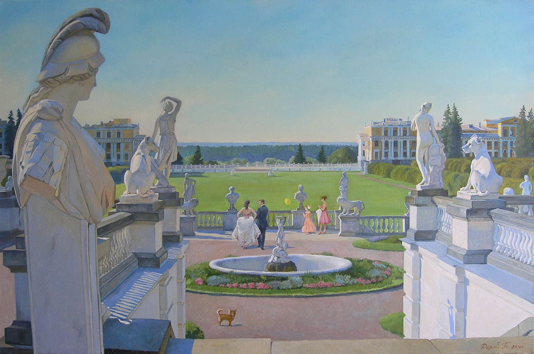 The Arkhangelskoe Manor. The Great Parterre, Tatyana Deriiy