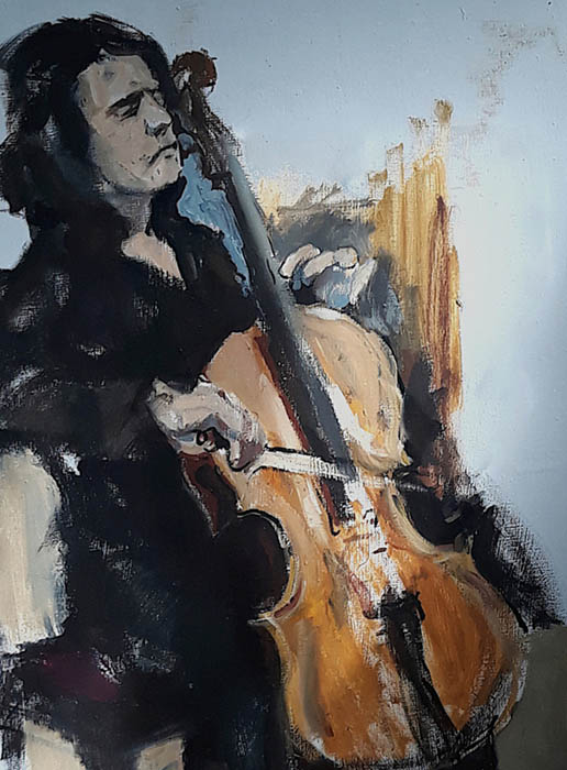 Cellist, Vasily Motornov