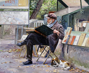 Parisian bookseller