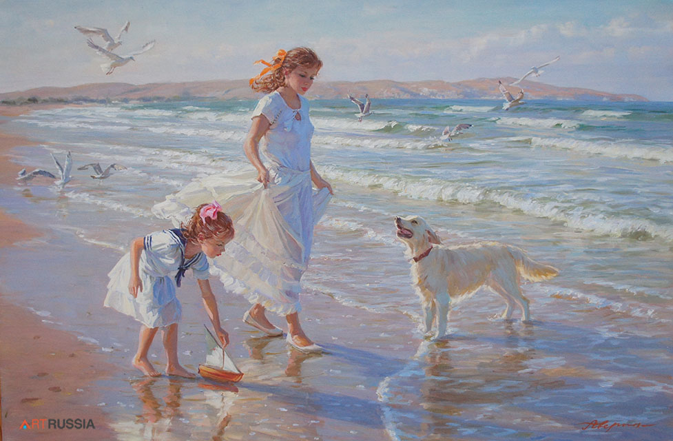 Walk along the seashore #2 (to order), Alexandr Averin