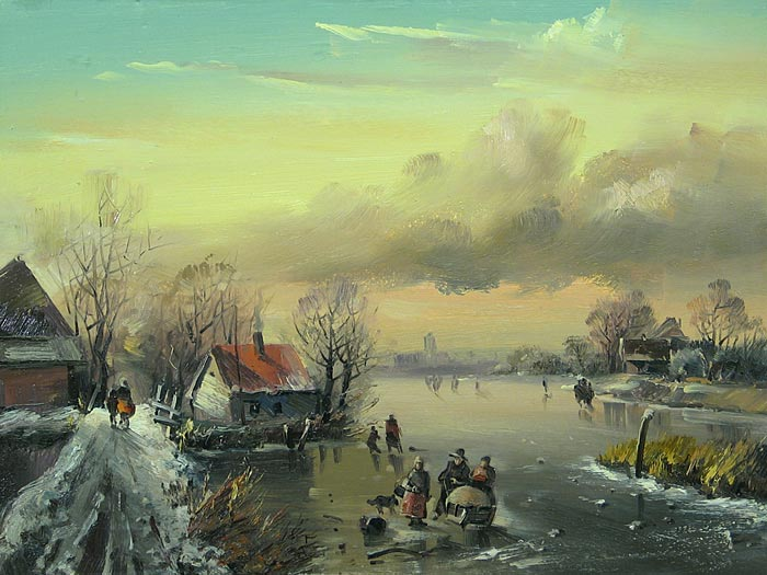 Winter in Holland, Ivan Ageev