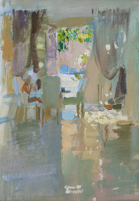 Summer reflection, Igor Larionov