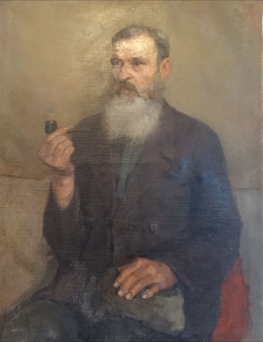The old man (Smukrovich Petr Petrovich, 1926-1998), ArtRussia Collection