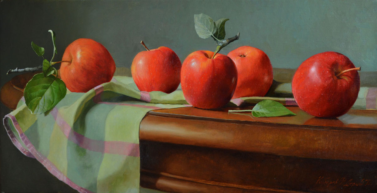 Red apples, Tatyana Deriiy