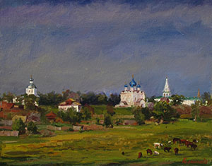 Suzdal. After a thunder-storm