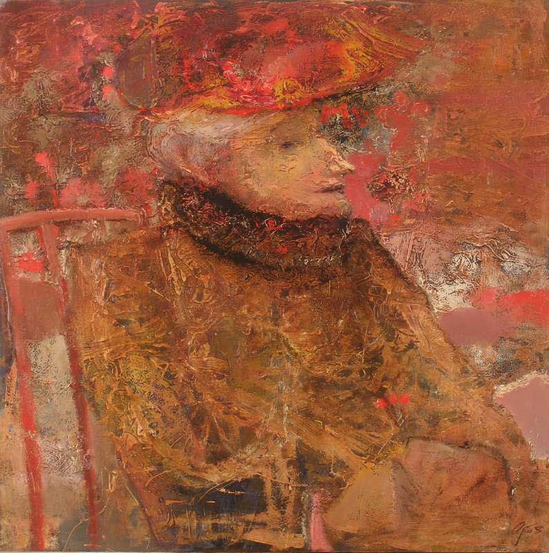 Portrait of the elderly lady, Andrey Aranyshev