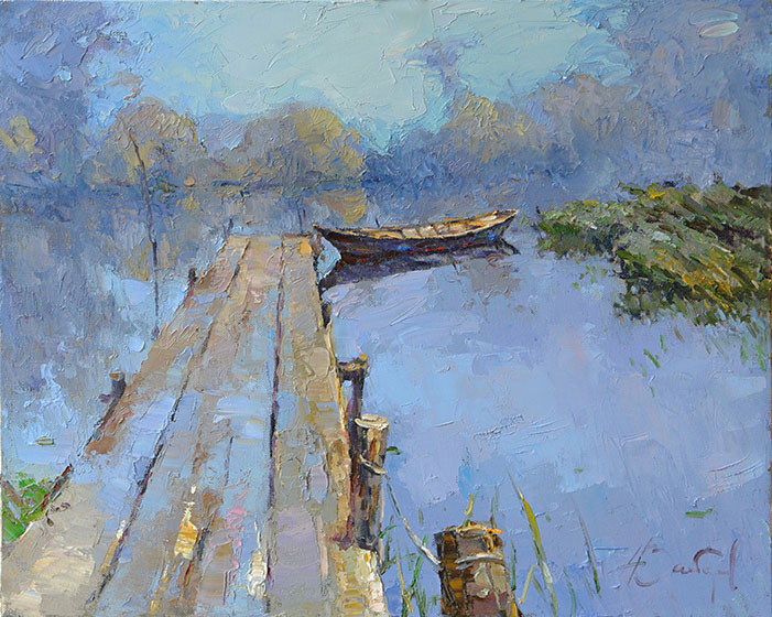 Morning on the lake, Alexi Zaitsev
