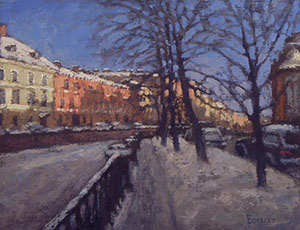 Griboyedov Canal in the winter