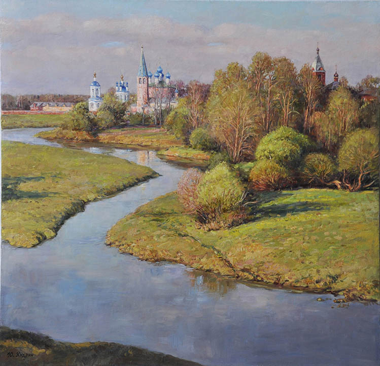 The River Teza flows, Yuri Kudrin