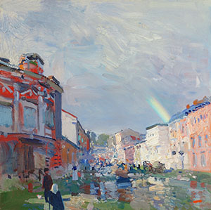 After the rain. Vyatka