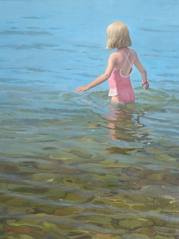 The warm sea, Tatyana Deriiy