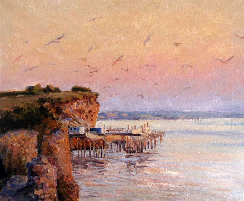 Sunset at the Talmont-sur-Gironde, Igor Rodionov
