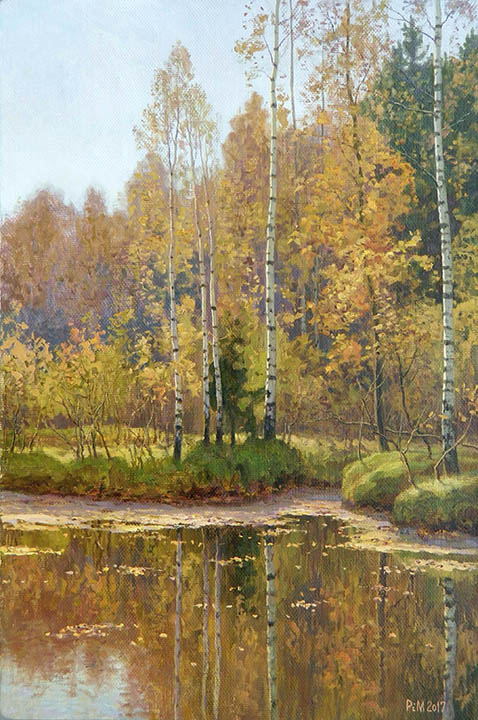 Autumn day, Rem Saifulmulukov