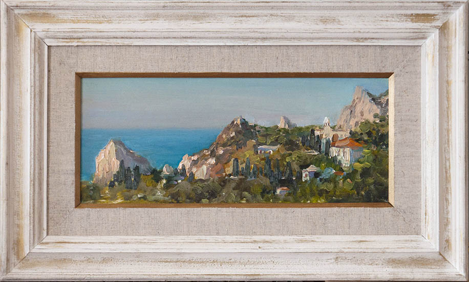 Simeiz. View from Mount Cat and Swan, Alexander Dolosov