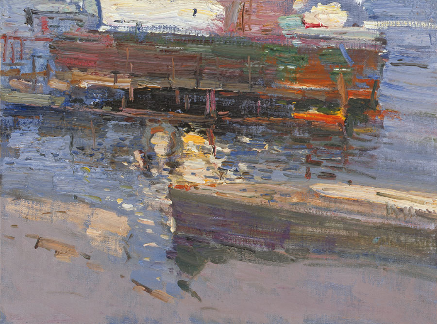 Fishing boats, Peter Bezrukov