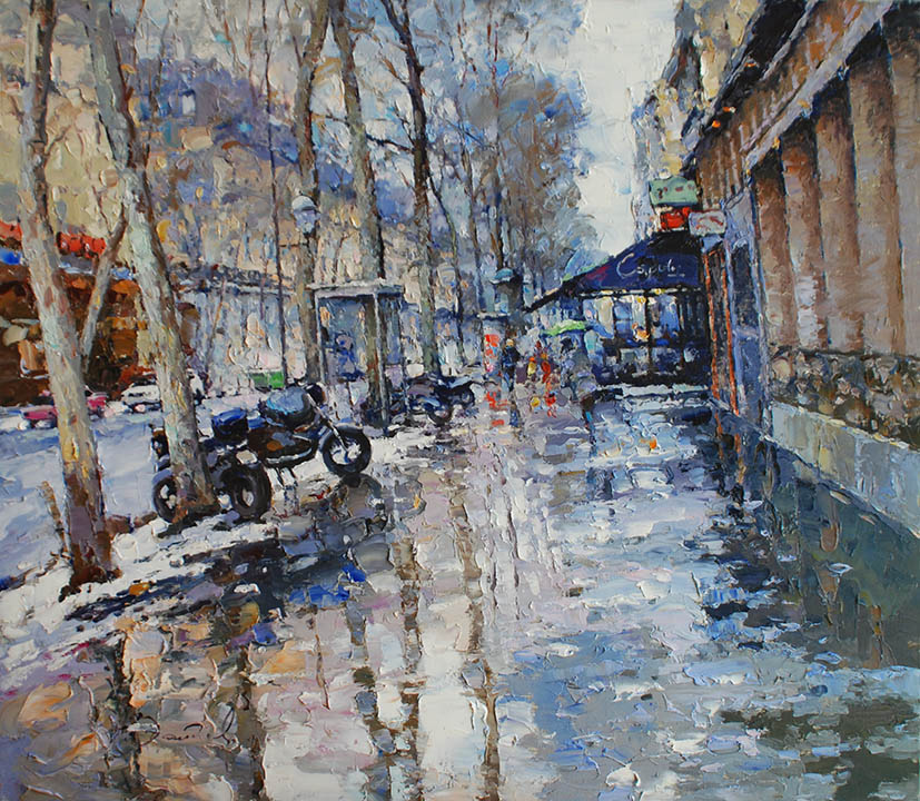 Winter. Boulevard (Paris), Alexi Zaitsev