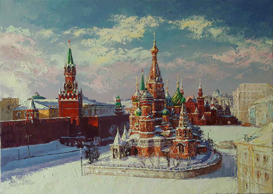 Собор Василия Блаженного, Михаил Бровкин