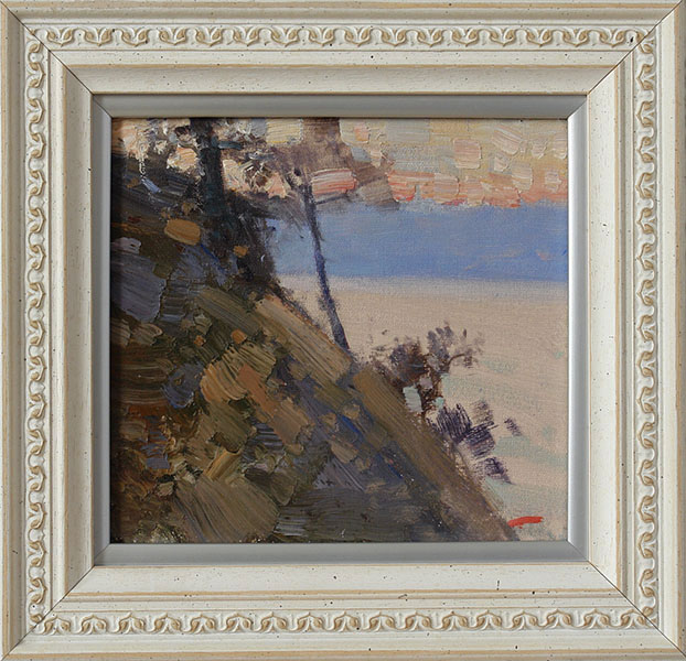 Delight. Baikal, Bato Dugarzhapov- painting with the Baikal coast, modern impressionism