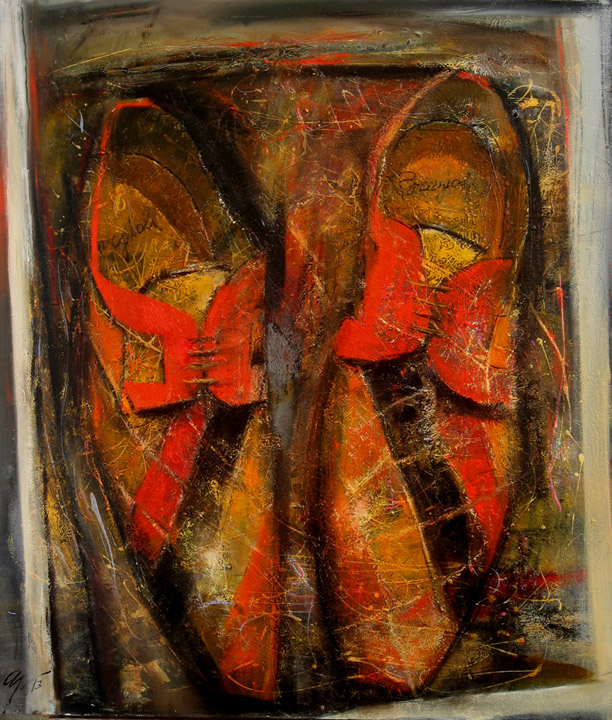 Still-life with shoes, Andrey Aranyshev