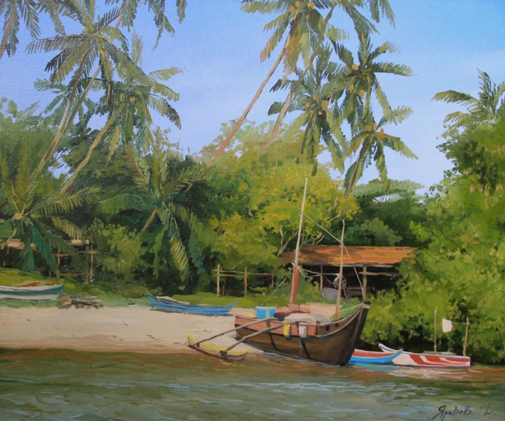 In fishing settlement sri lanka dmitry yarovov for Sri lanka fishing