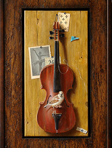 Violin (framed)