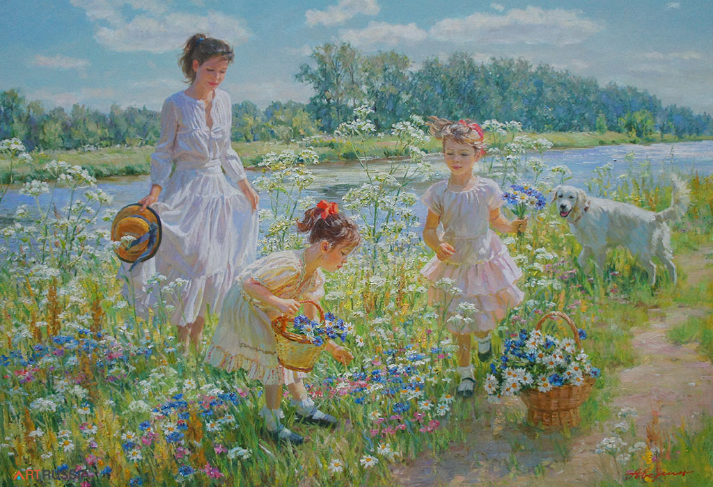 On the river bank (to order), Alexandr Averin