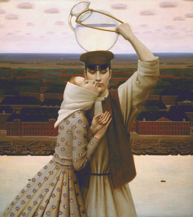 Water-carrier, Andrey Remnev