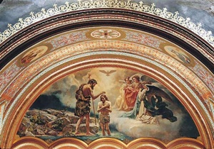Epiphany. Cathedral of Christ the Saviour. North tympanum