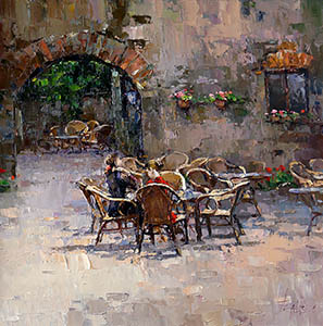 Cafe in Chianti