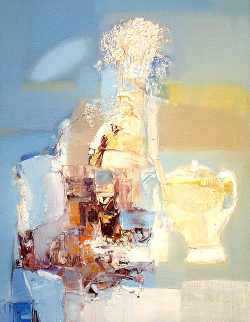 White breeze, Angelica Privalikhina