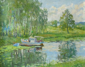 On the river Klyazma