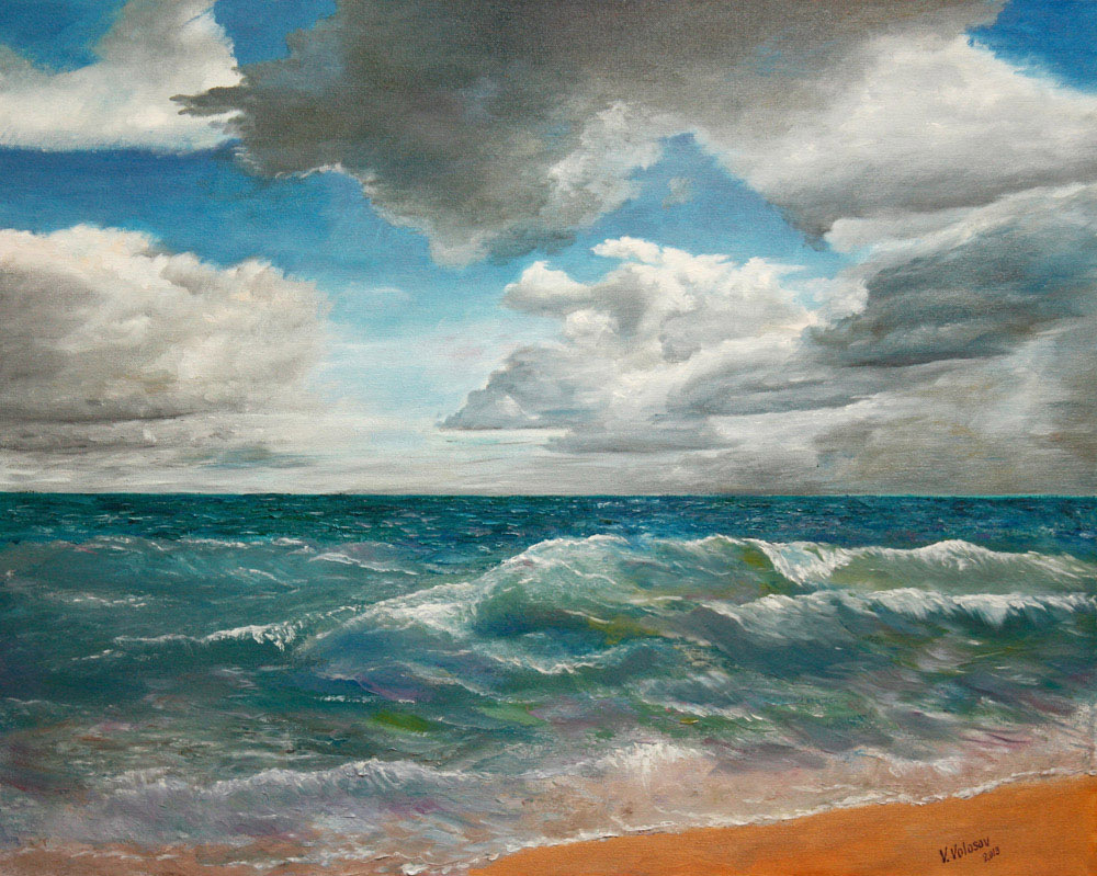 Changeable moods of the ocean, Vladimir Volosov