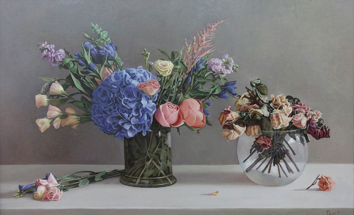 Two Bouquets, Alexandr Tolstikov
