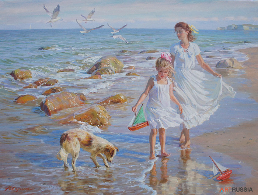 Walk along the seashore #1 (to order), Alexandr Averin