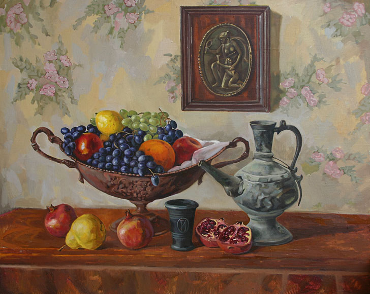 Still-life with east jug, Peter Stronsky