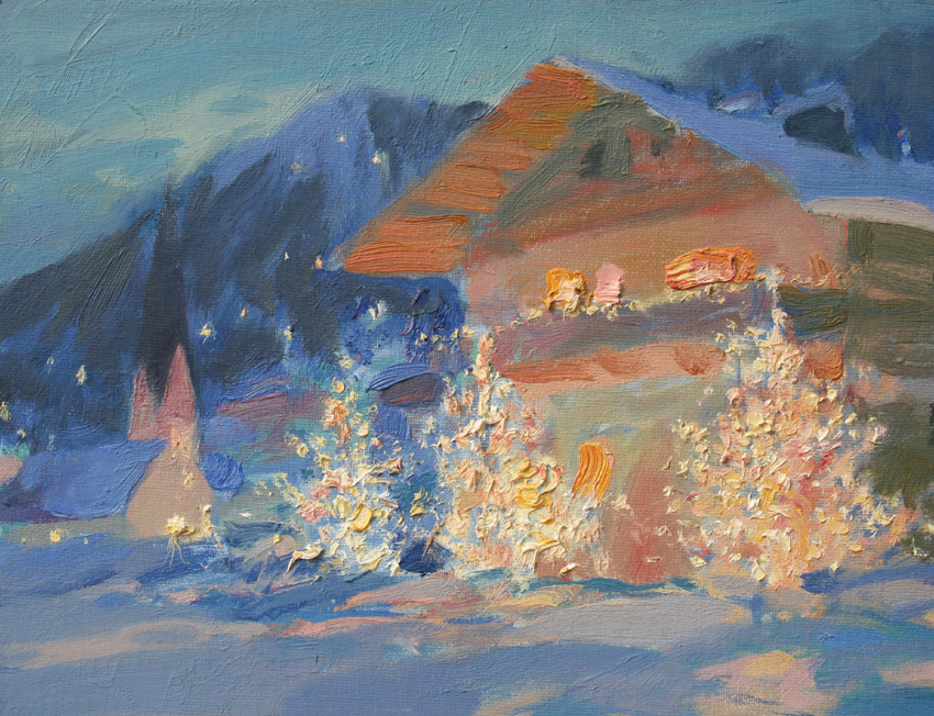 Christmas night, Igor Larionov