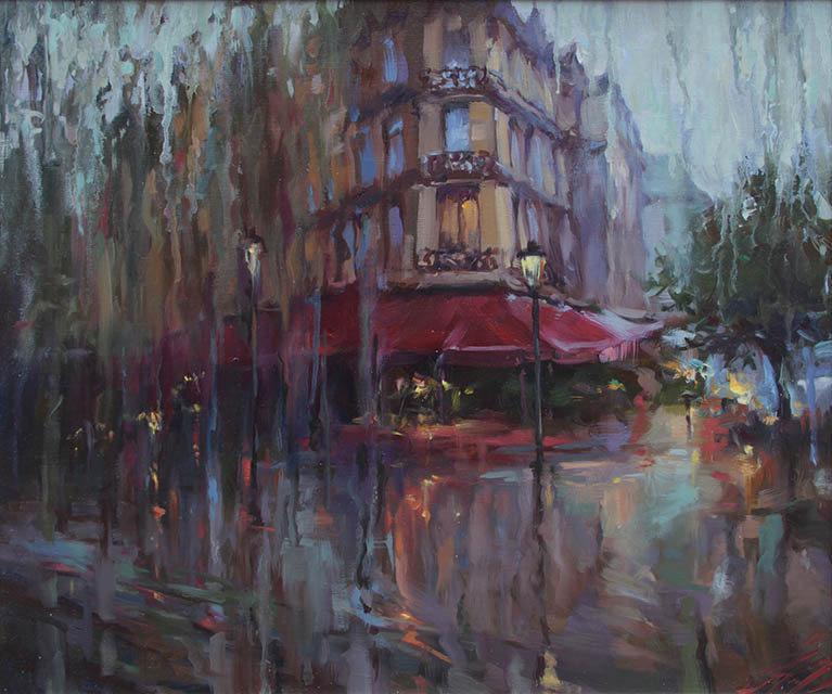 Rain outside the window, Natalia Kahtyurina