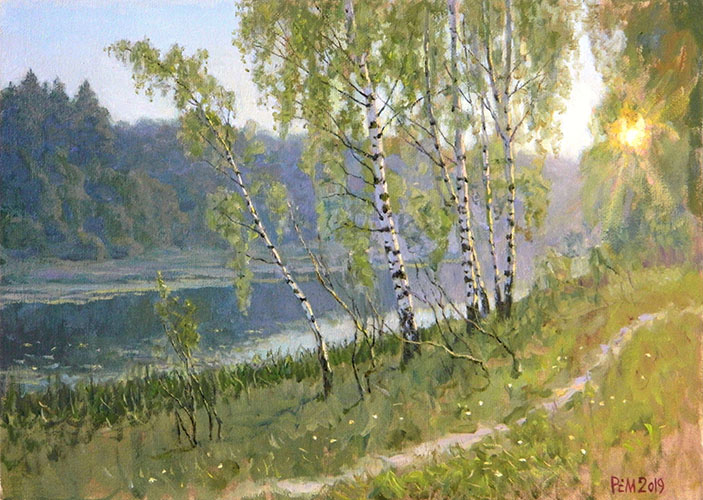 In the morning, Rem Saifulmulukov