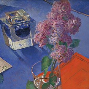 "Petrov-Vodkin's ""Still Life with a Lilac"" will be shown in Moscow before being sold at Christie's"