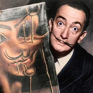 The grand exhibition of Salvador Dali will open in the Moscow Manege on January 28, 2020
