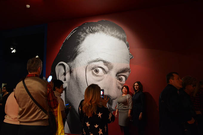 When is the best time to go to the Salvador Dali exhibition? MOSCOW24 channel video