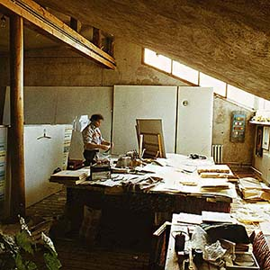 Legendary Ilya Kabakov's workshop on Sretensky Boulevard in Moscow became part of the Tretyakov Gallery
