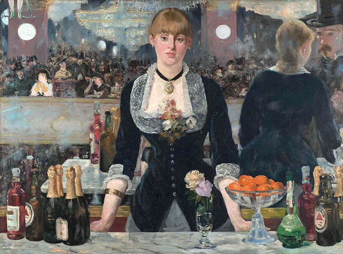 An exhibition of masterpieces of impressionism from the collection of Kurto opened in the Paris Louis Vuitton Foundation