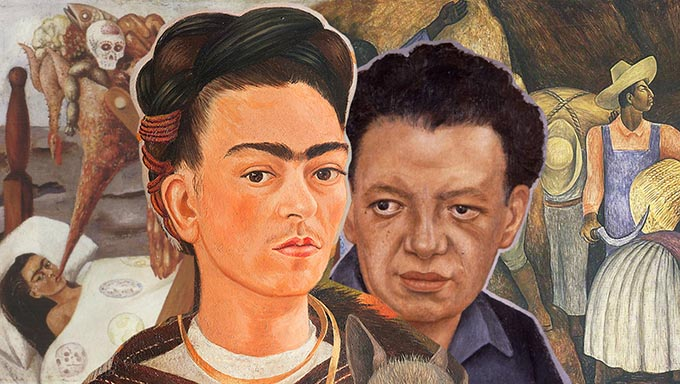 Love affair in art: the exhibition of Frida Kahlo and Diego Rivera opened in the Moscow Manege