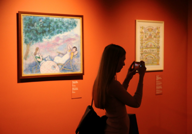 BETWEEN SKY AND EARTH: a unique exhibition by Marc Chagall opens in the New Jerusalem Museum near Moscow