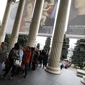 Additional tickets for Raphael exhibition in the Pushkin Museum. Pushkin will go on online sale