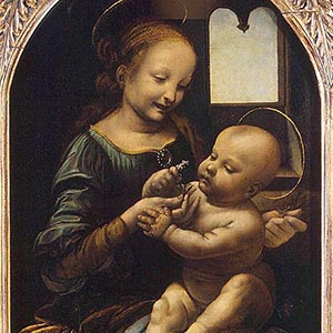 "The Hermitage will show in Italy one of its most valuable works ""The Benois Madonna"" by Leonardo da Vinci"